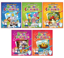 Dreamland - Magic Colouring Pack Of 5 titles