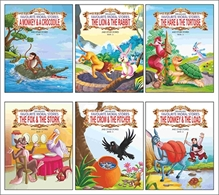 Dreamland - Dreamland Favourite Moral Stories Combo Pack of 6 Titles