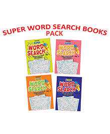 Dreamland Super Word Search Pack Of 4 - English