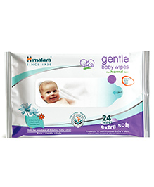 Himalaya Gentle Baby Wipes 24 Pieces - 24 Pieces