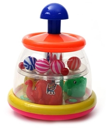 Luvely - Push N spin Spinning Elephant