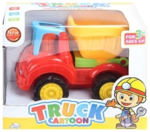 Fab N Funky - Truck Cartoon Dumper Truck Yellow