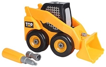 Fab N Funky - Super Magic Dirt Diggers And Dump Truck Toy Yellow