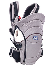 Chicco You N Me Baby Carrier Grey - Upto 12 kg