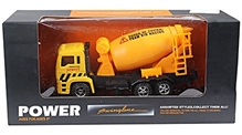 Fab N Funky - Mixer Truck Model Car Yellow