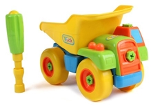 Dump Toy Truck With A Screw