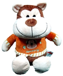 Play N Pets - Brown Large Sitting Monkey