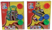 Simba - Art And Fun Dough Set Car And Garden