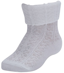 Farlin - Ankle Socks Knitted White
