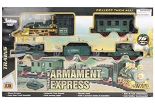 Fab N Funky - Battery Operated Green Armament Express Train Set