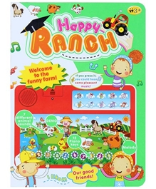 Fab N Funky - Red Happy Ranch Musical Toy Laptop