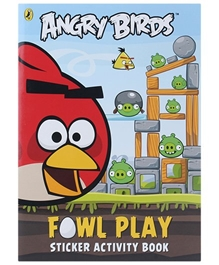 Angry Birds - Angry Birds Fowl Play Sticker Activity Book