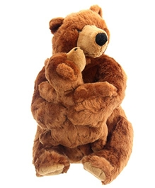 Play N Pets - Brown Bear With Baby Bear