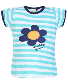 Baby Hug - Short Sleeves Striped Top