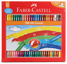 Faber Castell 50 Oil Pastels