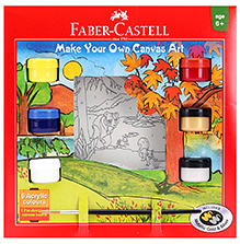 Faber Castell Make Your Own Canvas Art