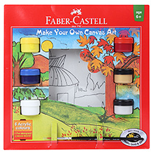 Faber Castell Country Make your Own Canvas Art