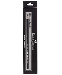 Faber Castlel 10 Drawing Pencils - Black Matt 1111