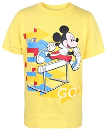 Disney - Half Sleeves Mickey Printed T-Shirt