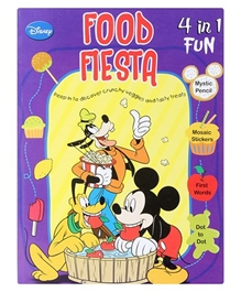 Mickey Mouse and Friends - 4 in 1Food Fiesta