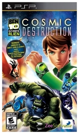 Ben 10 -  Ultimate Alien Cosmic Destruction PSP
