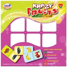 Edupark - Krazy Fruits Dominoes Game