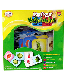 Edupark - Krazy Vegetables Dominoes Game