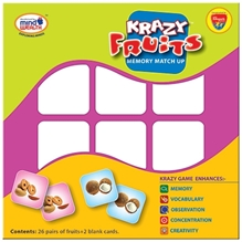 Edupark - Krazy Fruits Memory Matchup Game