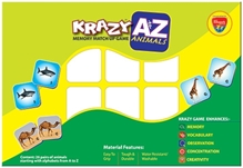 Edupark - Krazy A to Z Animals Memory Matchup Game