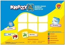 Krazy A Word Image Memory Matchup Game