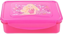 Barbie - Lunch Box Airtight Dark Pink