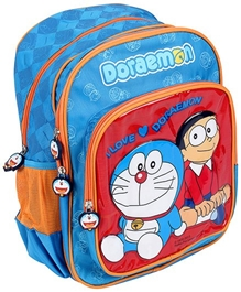 Doraemon - School Bag Red 14 Inches