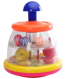 Luvely - Push N Spin Duck Ball
