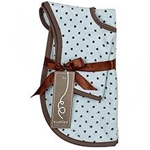 Kushies Baby Bib And Burp Pad Gift Set - Blue
