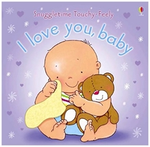 Usborne - Sunngletime Touchy And Feely I Love You Baby Book