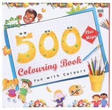 Apple Books - 500 Plus Mega Colouring Book