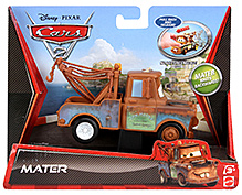 Disney Pixar Cars 2 Pullback And Release Racer Mater - Brown
