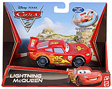 Disney Pixar Cars Pullback And Release Lightning McQueen - Red