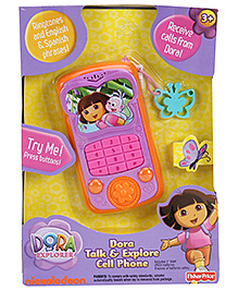 Fisher Price Dora Talk And Explore Cell Phone