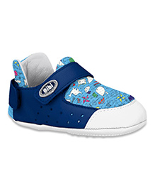 Elefantastik Baby Sneakers White And Navy