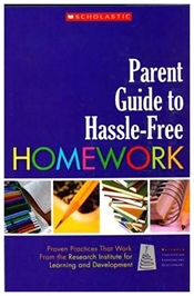Scholastic - Parent Guide To Hassle Free Homework