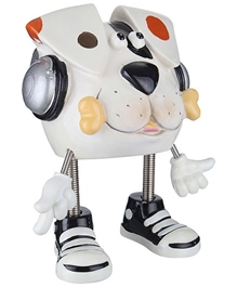 Archies - Money Bank Dog With Headset White