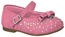 Elefantastik Ballerina with Studs and Bow on Upper - Pink