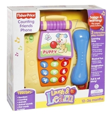 Fisher-Price - Laugh & Learn - Counting Friends Phone