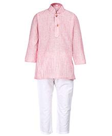 Baby Hug - Pink Kurta Pyjama Set