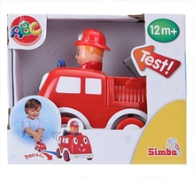 Simba - ABC Press And Go Car Toy Red