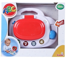 Simba - ABC Play Laptop Toy