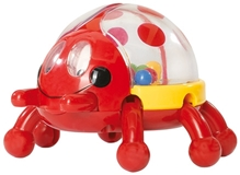 Simba - ABC Jumping Beetle Rattle Red