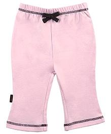 Kushies Baby Organic Cotton Plain Legging - Pink
