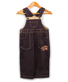 Beebay - Infant Boy Denim Dungaree Brown